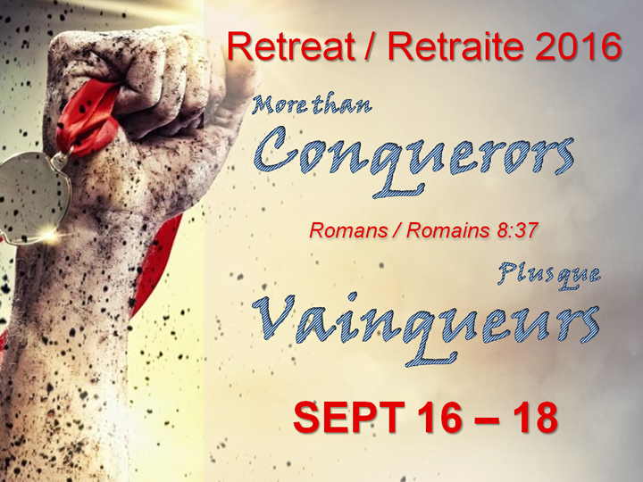 2016 Retreat flyer.